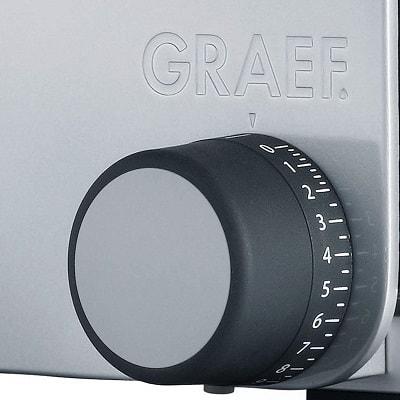 Graef-Allesschneider-Vivo-V-20-Schnittbreiteneinstellung